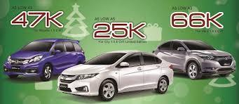 honda car deal win a honda br v with pre promo carguide ph