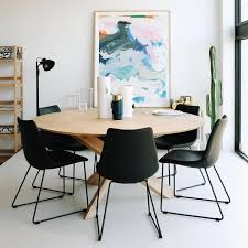 Circle Dining Table Ethnicraft Oak Circle Dining Table Clickon Furniture
