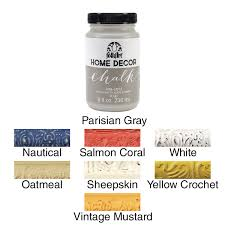 folkart home decor ultra matte finish chalk acrylic paint colors