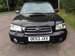 subaru xt used 2003 subaru forester xt turbo for sale in maidenhead
