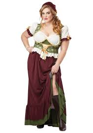 Size Costumes Halloween Size Renaissance Wench Costume