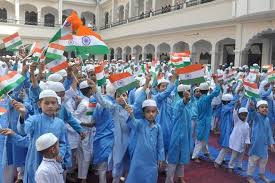 up madrasa records independence day celebration on the