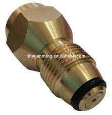 propane refill adapter safest tank fill attachment this brass