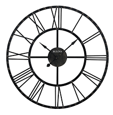 amazon com bulova carmen wall clock home u0026 kitchen