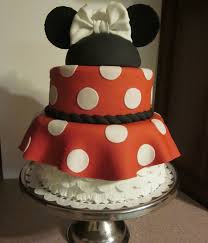 Red Minnie Mouse Cake Decorations Top 25 Minnie Mouse Birthday Cakes Cakecentral Com