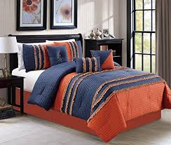 blue and orange bedding eye catching adventurous and unique bedding sets