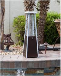 patio heaters bunnings backyards chic red ember carbon collapsible gun metal glass tube