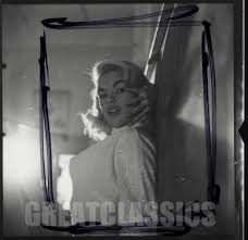Jayne Mansfield House by Jayne Mansfield Voluptuous 1950s Contact Sheet Photograph