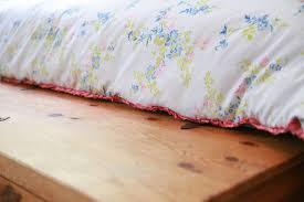 Making A Duvet Cover Diy Duvet Cover Comforter Cover From Two Flat Sheets My So