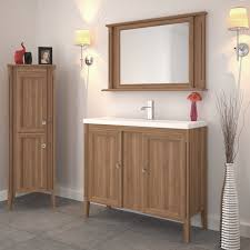 Solid Oak Bathroom Vanity Unit England 1000 Solid Oak 2 Door Bathroom Vanity Unit And Basin Buy