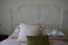 Metal Frame Headboards by Small Ikea White Metal Bed Frame Affordable Ikea White Metal Bed