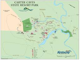 Map Of Ohio State Parks by Carter County Trails
