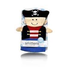 smittens pirate bathing mitt kids bathroom accessories