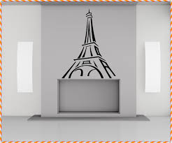 Eiffel Tower Wall Decals Amazing Idea Paris Wall Decals Home Decorations Ideas
