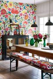 Best Wallpaper For Dining Room by Best 25 Large Print Wallpaper Ideas On Pinterest