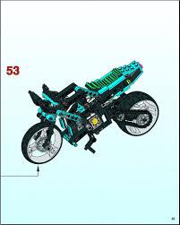 lego technic motocross bike lego motorbike instructions 8430 technic