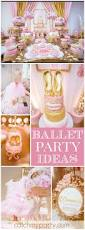 Barbie Themed Baby Shower by Best 25 Ballet Baby Shower Ideas On Pinterest Tutu Decorations