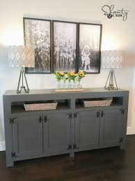 Media Console Tables by Free Plans Archives Shanty 2 Chic