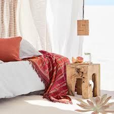Pink And Orange Bedroom Bedroom Orchha Wool Blanket Pink Orange Light Brown Pink And