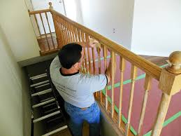 Sanding Banister How To Paint Stair Railings Newton Custom Interiors