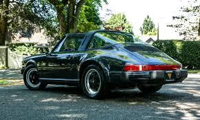 porsche targa green 1988 porsche 911 carrera targa weissach