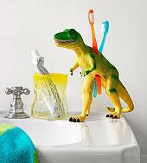 Dinosaur Bathroom Decor by Hilarious Ways To Upcycle Plastic Dinosaurs Legs Dog And Room