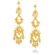 gold bridal earrings chandelier bridal earrings chandelier sang maestro