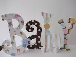 baby name wooden letters idea guru designs how to decorate