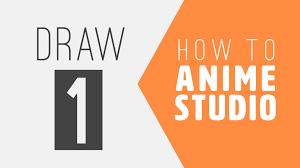how to anime studio drawing in anime studio youtube