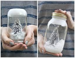 diy mason jar snow globe michaela noelle designs