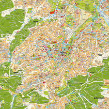 City Map Map Stuttgart Baden Württemberg Germany Maps And Directions At
