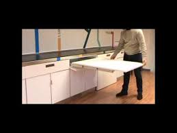 Atim Lunch Pull Out Drawer Table YouTube - Kitchen pull out table