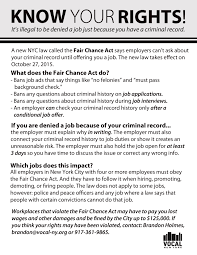How To Pass A Criminal Background Check Fairchancenyc Fair Chance Nyc