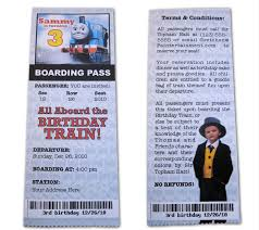 thomas and friends birthday party invitations id mommy diy train themed birthday party