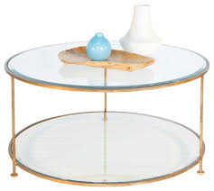 round glass coffee table decor modern coffee tables ideas top round glass and metal table intended