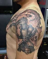 tattoo designs knights templar top 80 best knight tattoo designs for men brave ideas