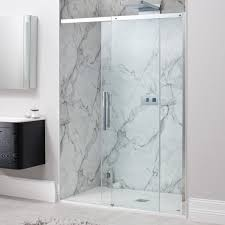 Infold Shower Door by Square Shower Enclosures Drench