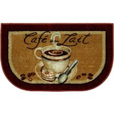 Ideas Kitchen Slice Rugs Design Coffee Themed Kitchen Rugs Cievi Home