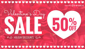 valentines sale st valentines day sale promotion maker editable design