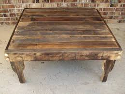 15 the best large rustic coffee tables
