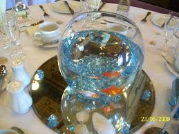 fish bowl centerpieces goldfish centerpiece ideas fish bowl centerpiece goldfish wedding