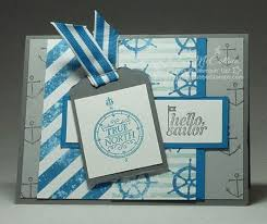Nautical Themed Ribbon - 88 best hello sailor cards images on pinterest sailors stamp
