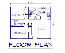 housing blueprints image result for floor plan 20x30 small house plans