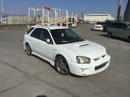 jdm subaru 2016 wrecking jdm version subaru impreza wrx 2004 manual low kms wagon
