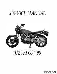 suzuki gs 1100 motorcycle repair manual 1979 1980 1981 1982 1983