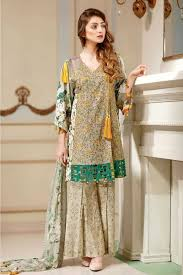 summer style capri warda melange lawn summer collection 2017 capri shirt party