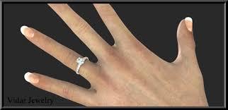 aquamarine engagement rings sterling silver aquamarine engagement ring vidar jewelry