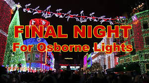 Osborne Family Spectacle Of Dancing Lights Final Song And Goodbye Moment For Osborne Family Spectacle Of