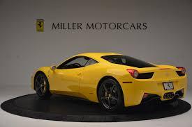 Ferrari 458 Yellow - 2011 ferrari 458 italia stock 4321 for sale near greenwich ct
