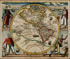 America World Map by File America Or The New World Map By Theodor De Bry 1596 Jpg